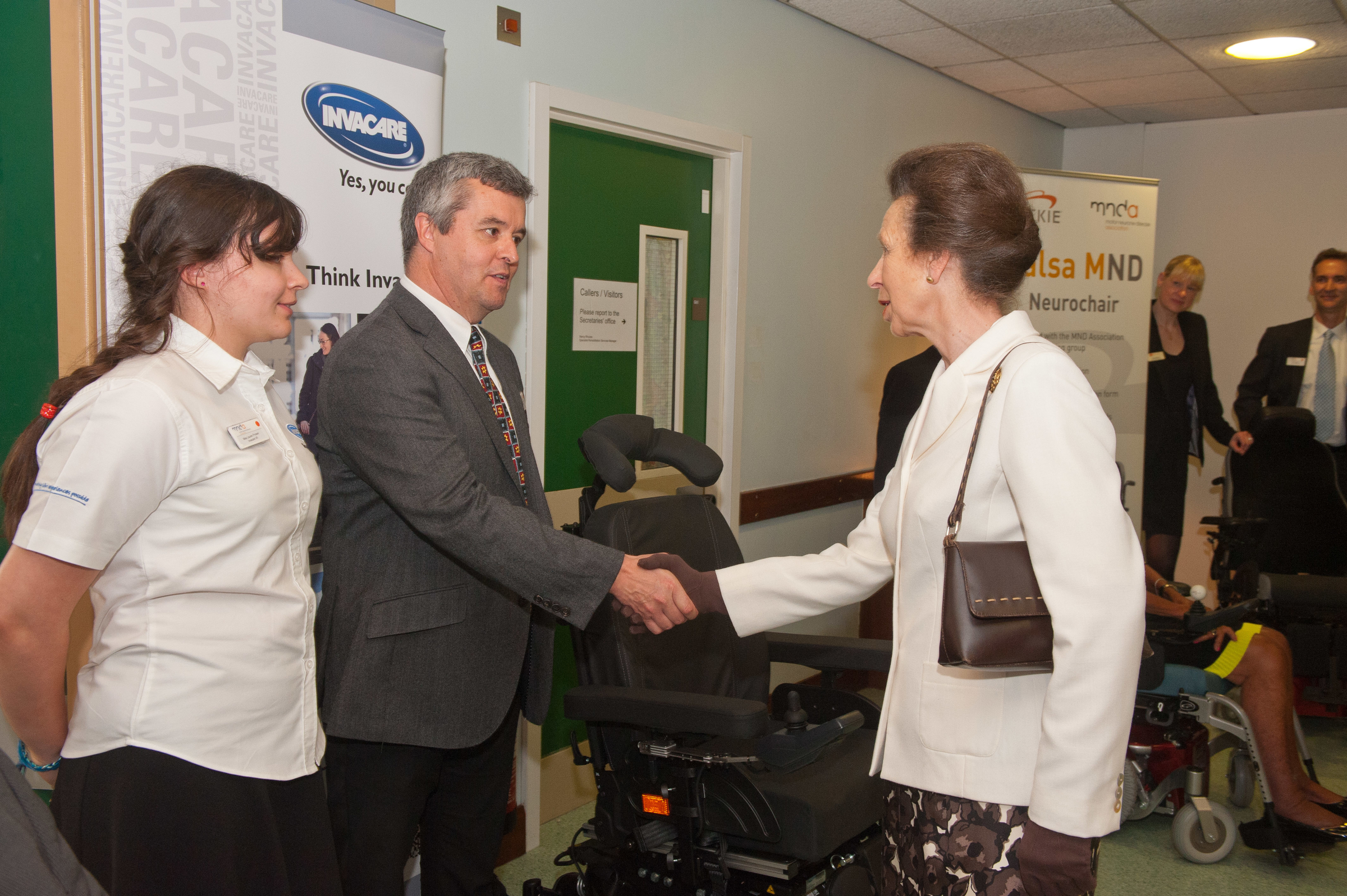 Invacare joins MND Association's New Centre Officially launched by HRH The Princess Royal