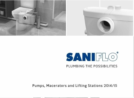 Saniflo launches new trade brochure