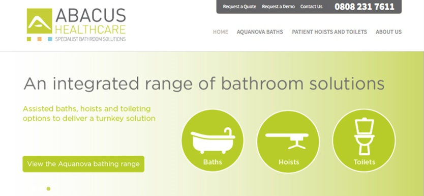 New Abacus Healthcare website launched