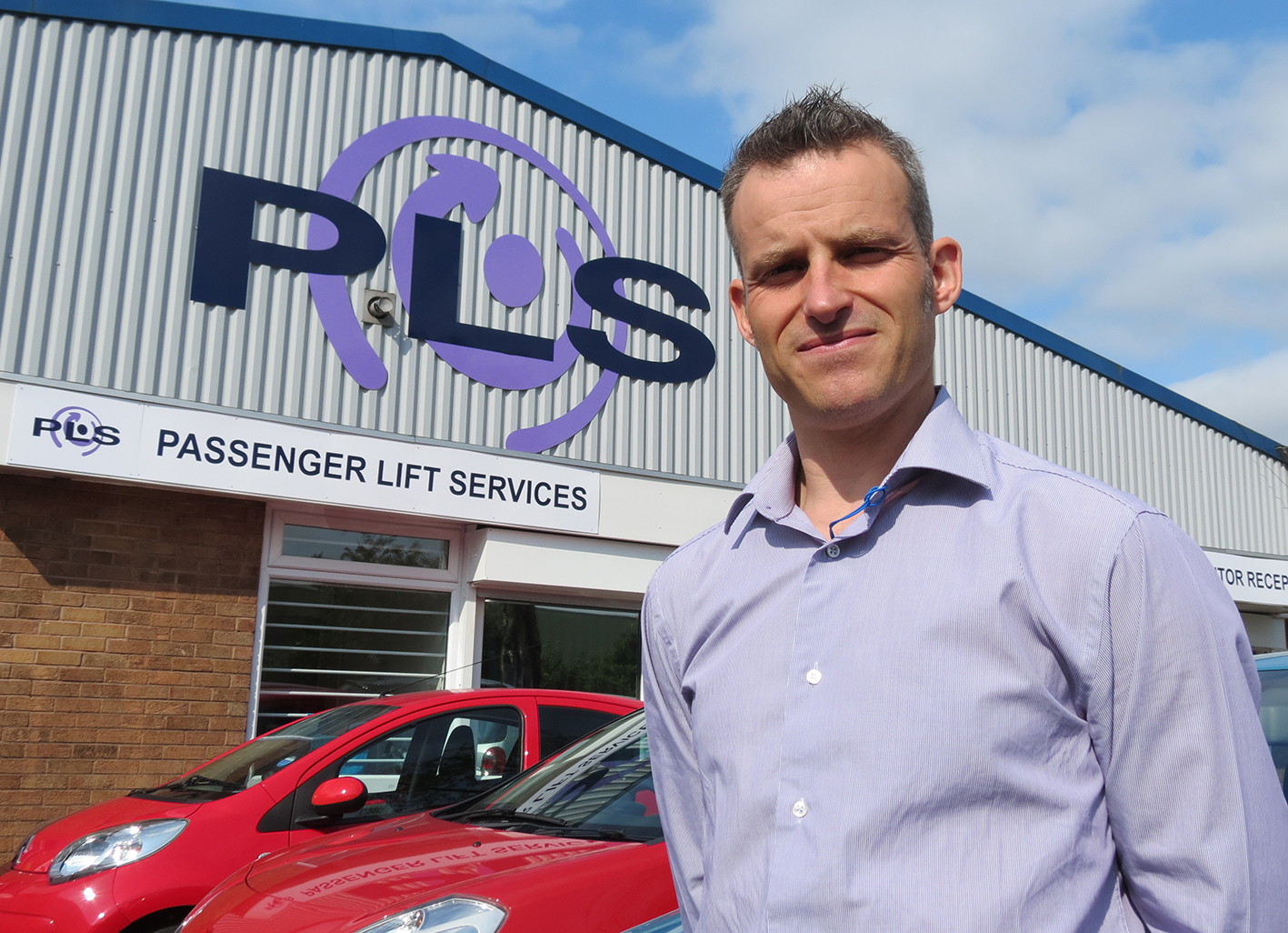 20-year-service Adam Beck promoted to PLS Managing Director