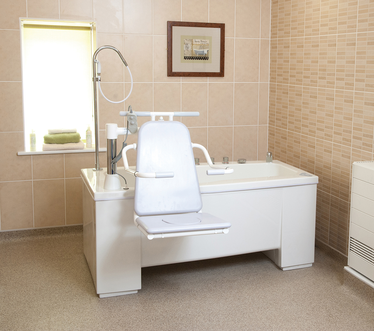Assisted baths available from Gainsborough in under four weeks