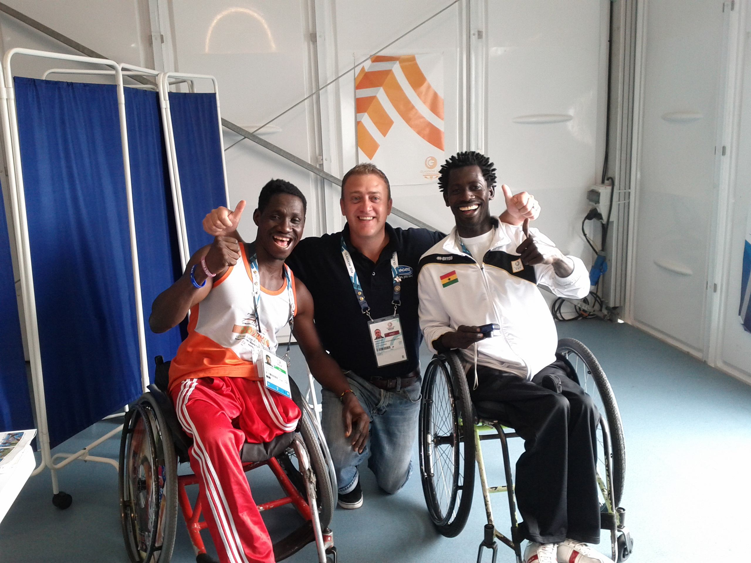 Invacare Repair Service wins fans at Commonwealth Games Glasgow 2014