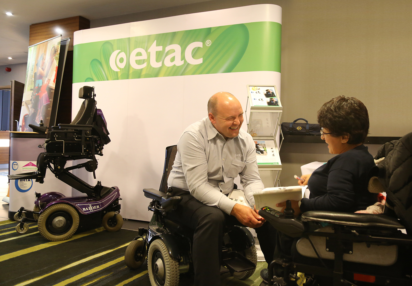 Balder Electric Wheelchair proves popular at Brittle Bone Society conference