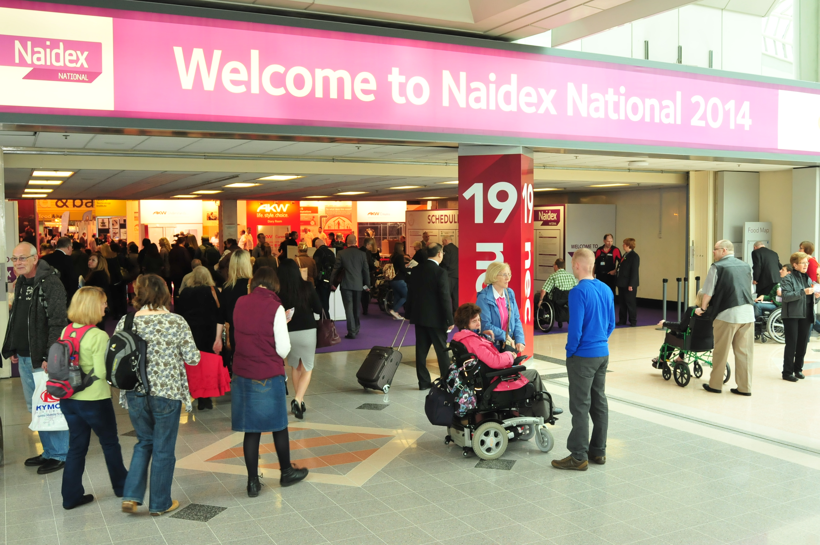 First peek at Naidex National 2015