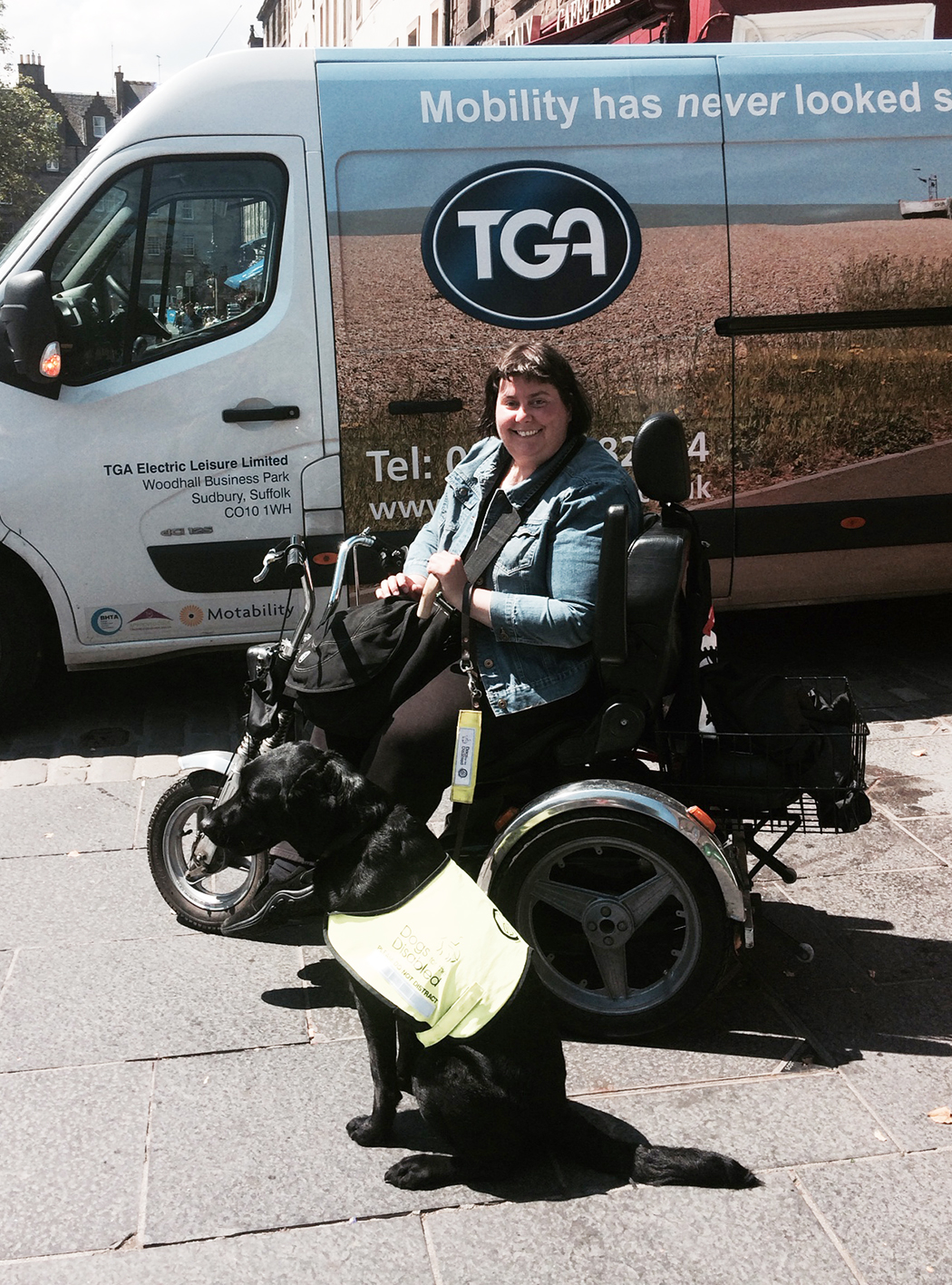 Writer returns to degree thanks to second 'Harley Davidson' TGA Mobility Scooter