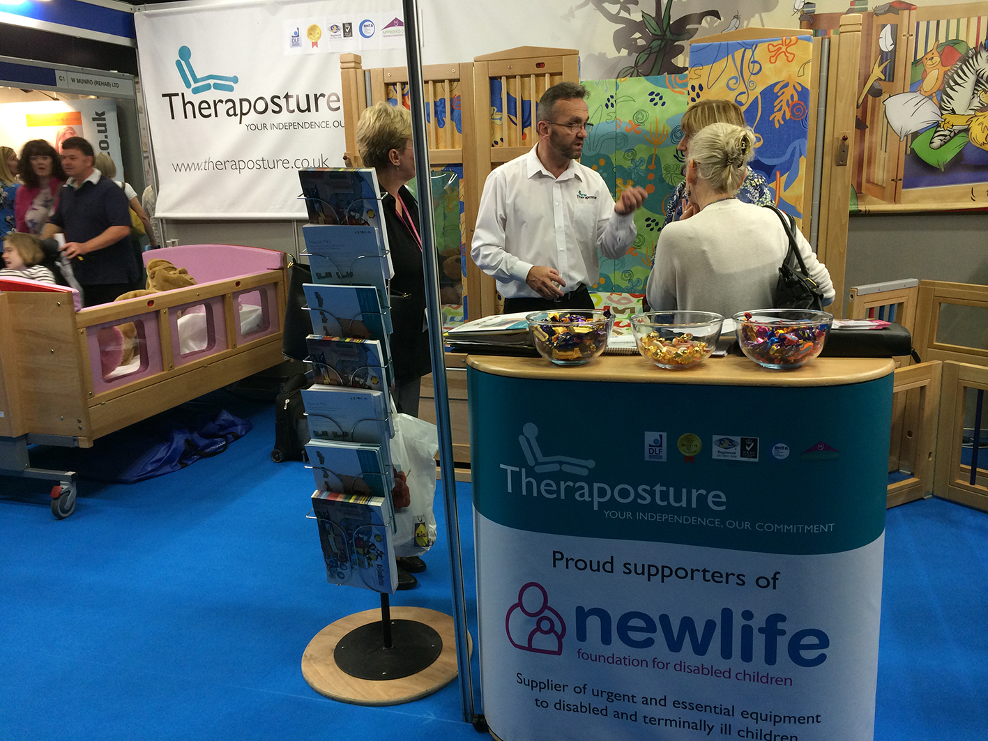 Theraposture highly popular at Kidz Scotland