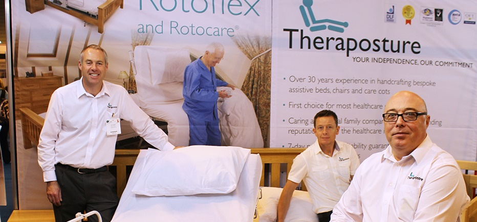 Theraposture partnerships with Newlife charity and Symmetrikit prove successul at OT Show