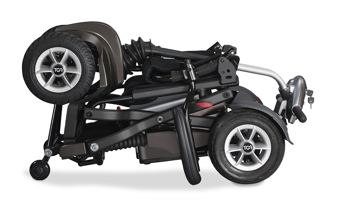 TGA to launch folding Maximo Mobility Scooter at Naidex National 2015