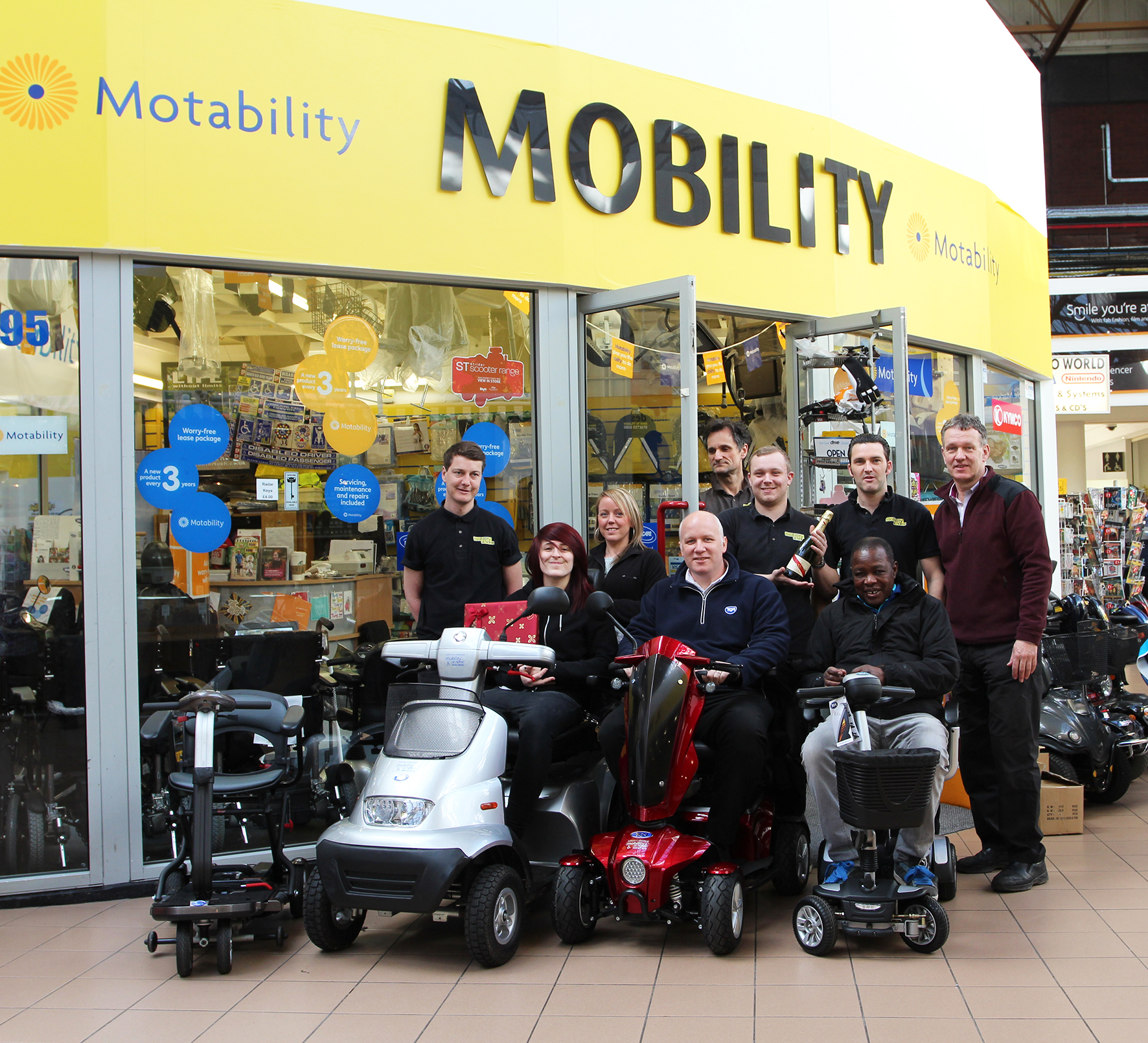 Derby's Mobility at Home wins TGA Regional Retailer Business Award