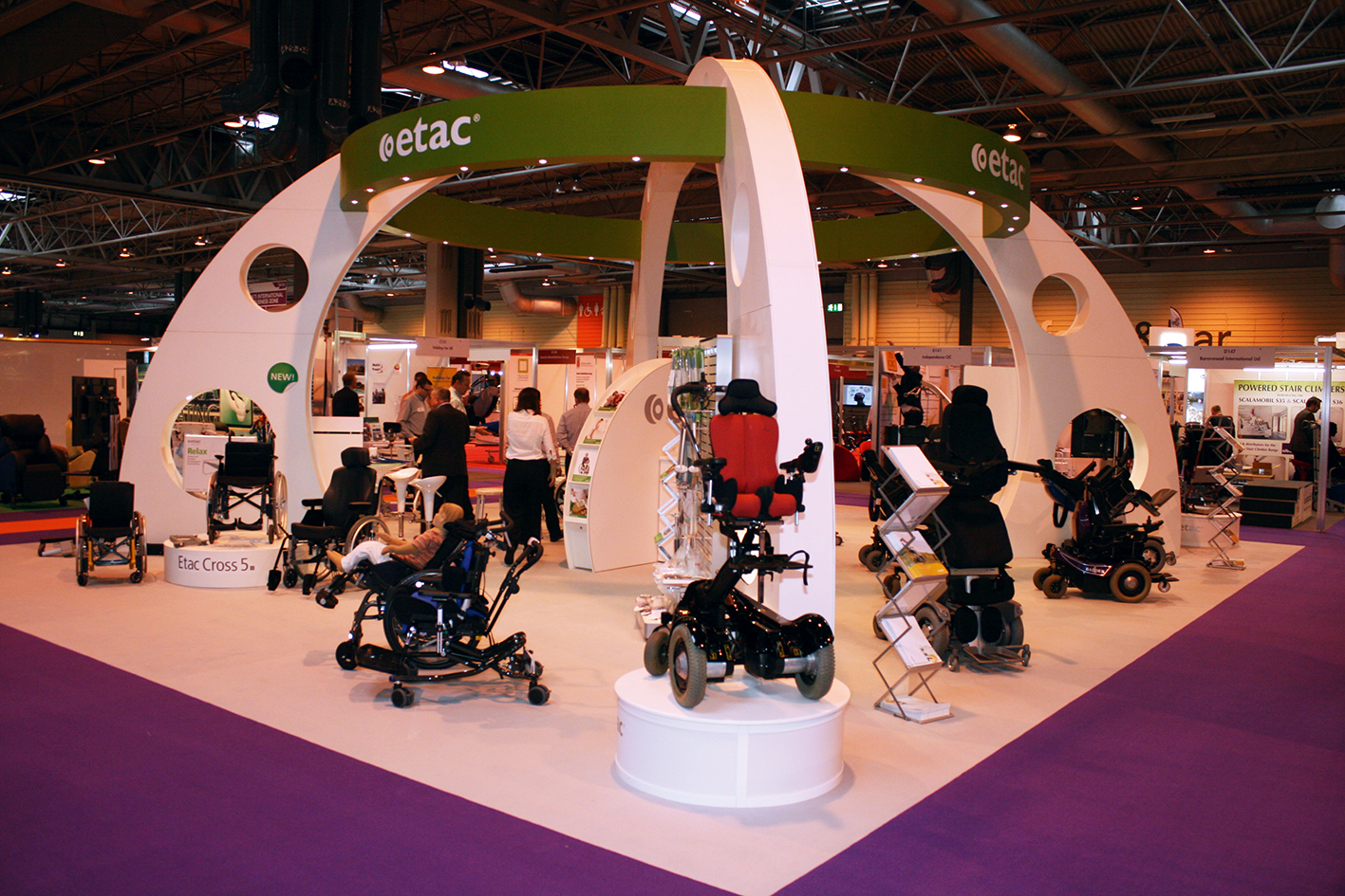 Balder Electric Wheelchairs from Etac demonstrate branding re-alignment for future product innovation
