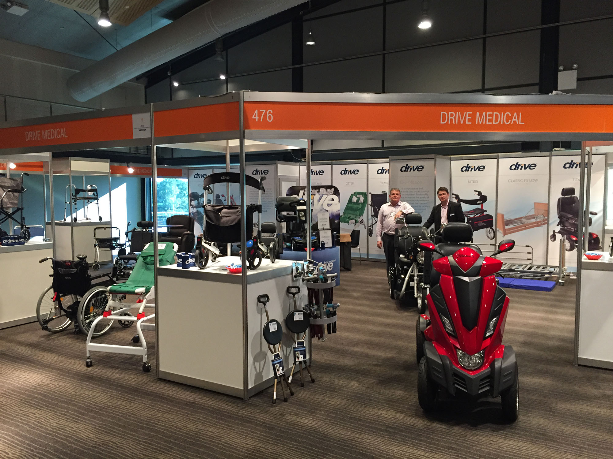 Drive Medical celebrates first year in Australia