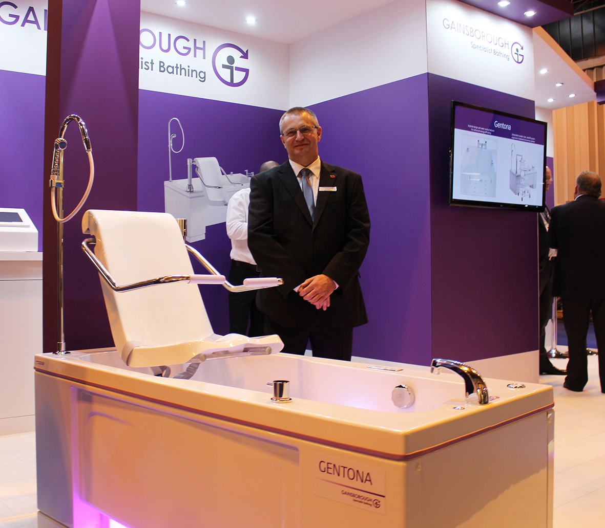 GAINSBOROUGH SPECIALIST BATHING LAUNCHES INNOVATIVE NEW ASSISTED BATH RANGE