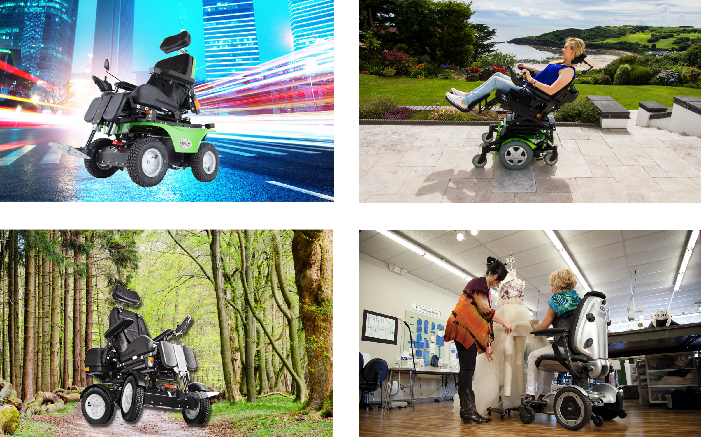 INVACARE LAUNCHES FOUR NEW UNIQUE ADDITIONS TO POWER CHAIR RANGE