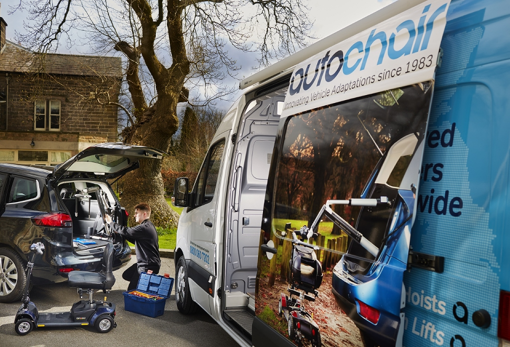 Autochair invests £200,000 to create high-tech mobile workshops to help it meet an increase in orders