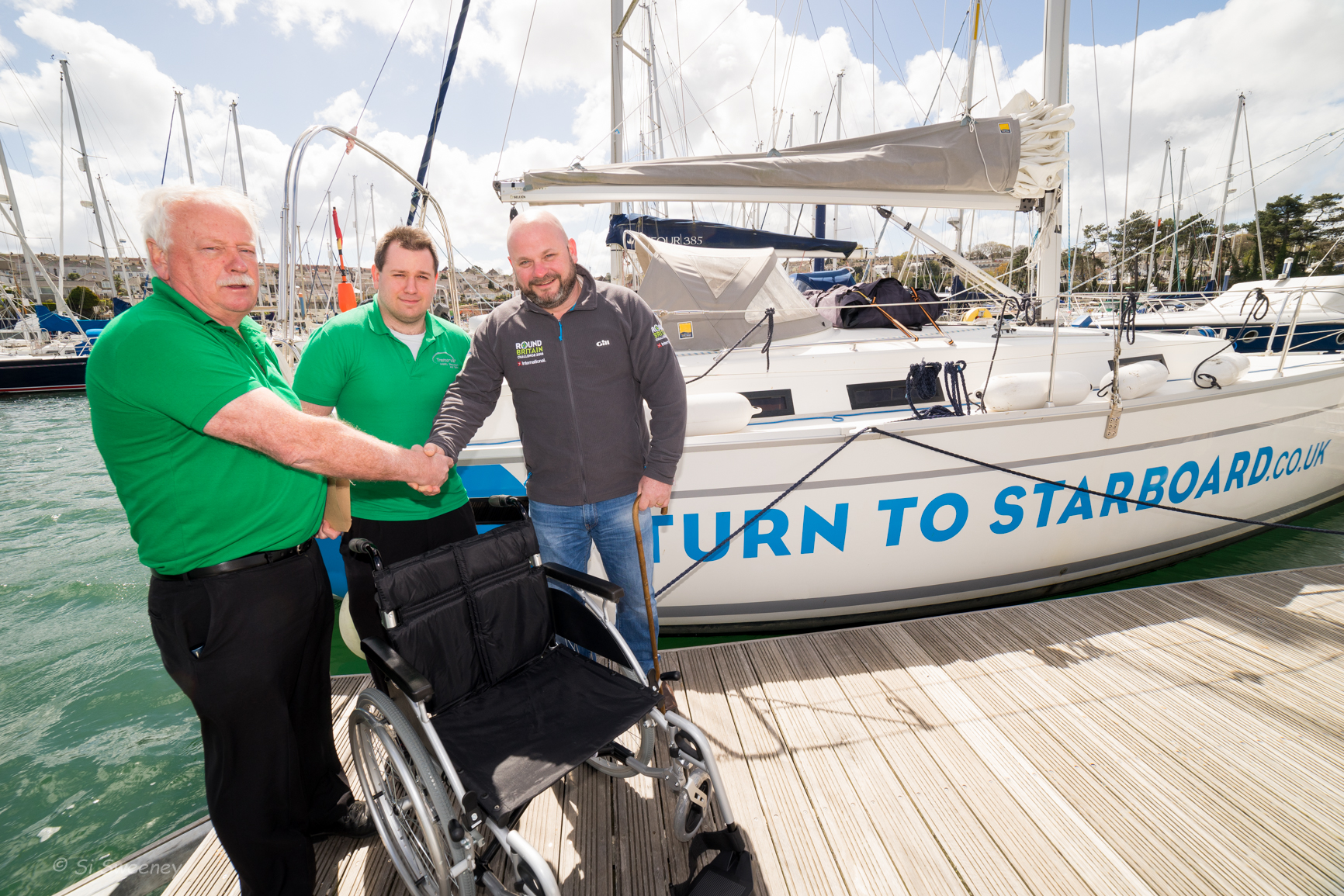 Life made easier for sailing veterans thanks to donation of new wheelchair