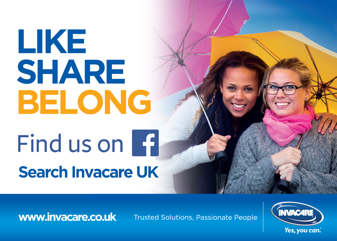 Invacare increases social media with Facebook page