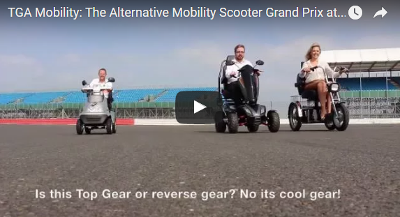 TGA Mobility Scooters: The alternative Silverstone Grand Prix