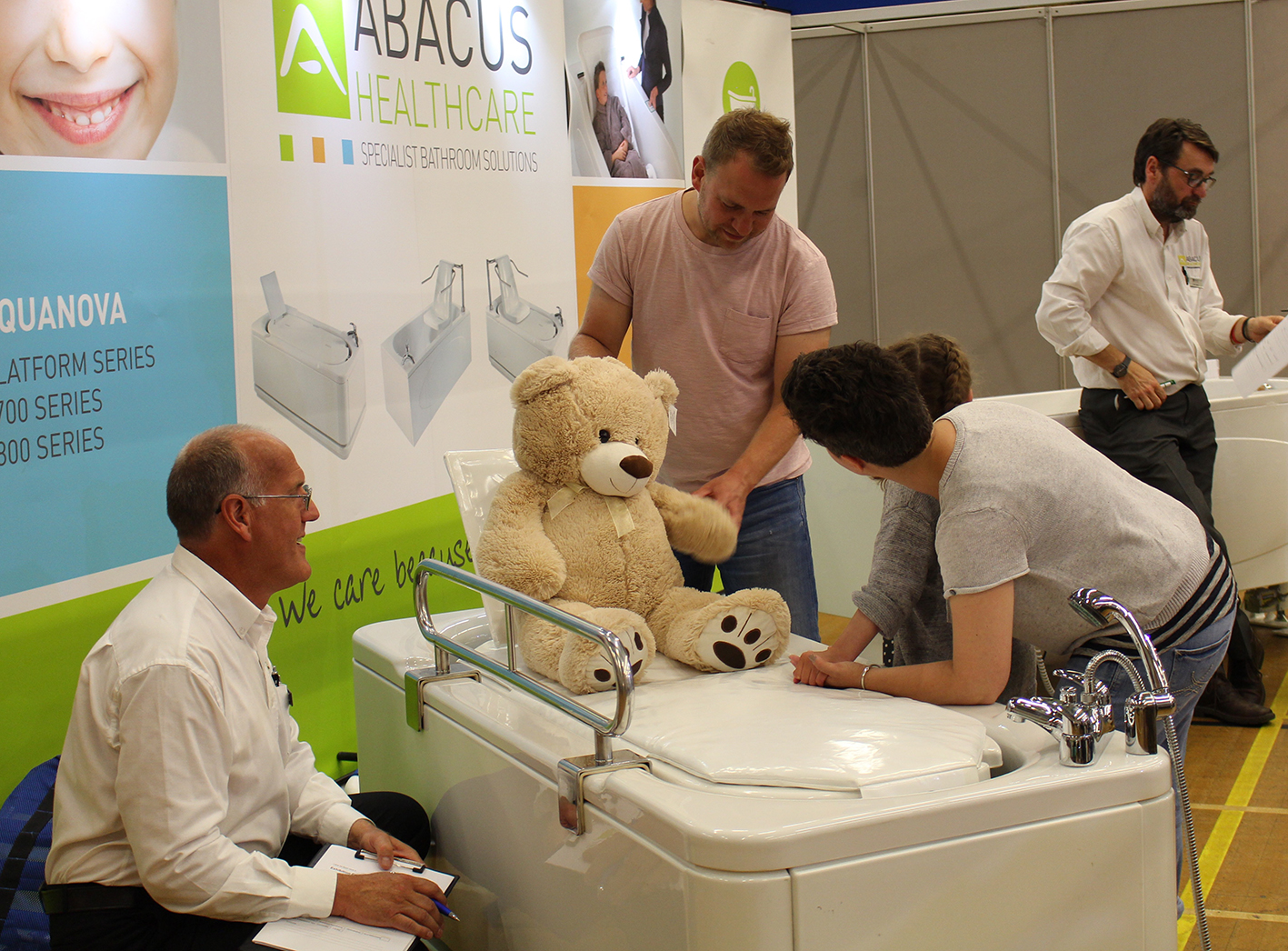 Abacus Healthcare to demonstrate Hi-Lo baths & children's competition at Kidz to Adultz Wales