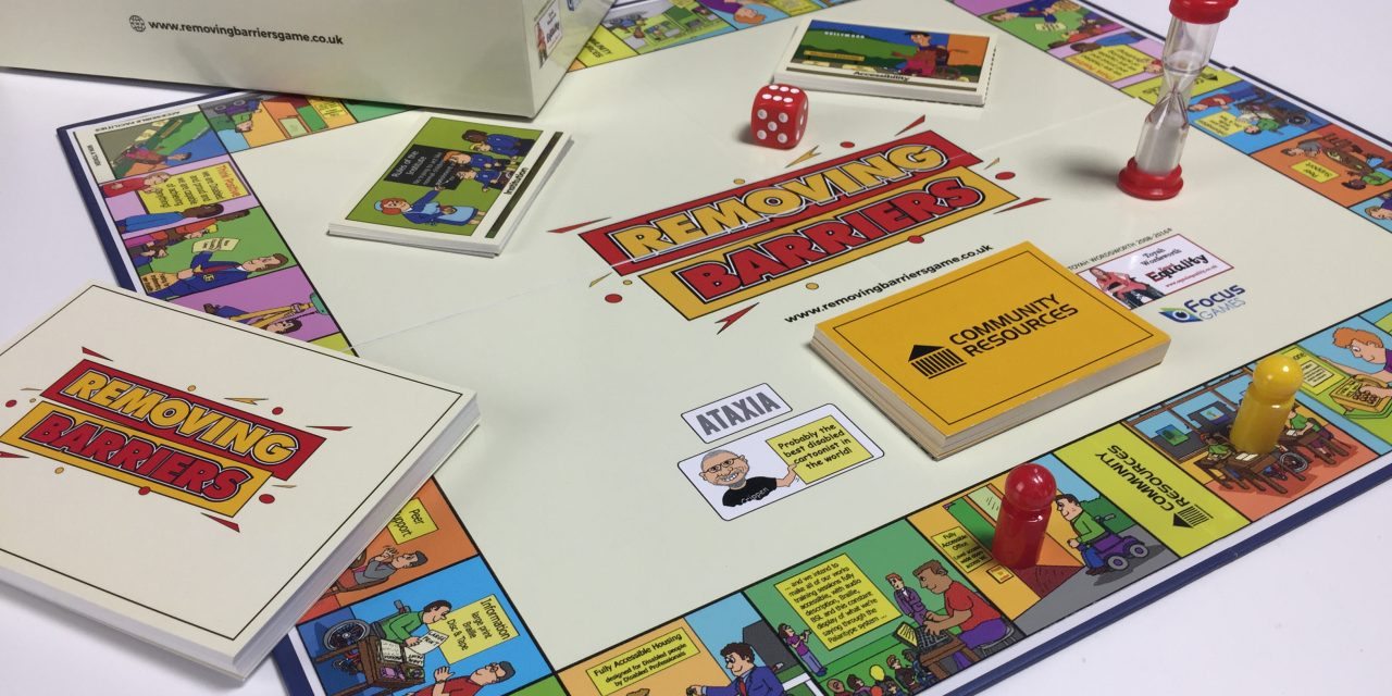Removing Barriers: Board Game That Helps Organisations Meet The Needs Of Disabled People