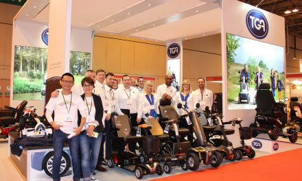 TGA's largest ever multiple scooter launch success at Naidex 2017