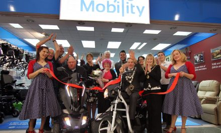 Bournemouth's new TGA Scooter Retailer, Lifestyle & Mobility, gets shoppers dancing in the aisles