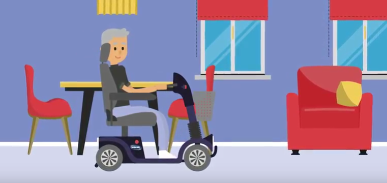 Invacare releases 'Best Practice' battery charging animation