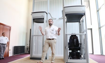Stiltz lifts launch unique wheelchair-friendly Homelift at first ever Trade product launch