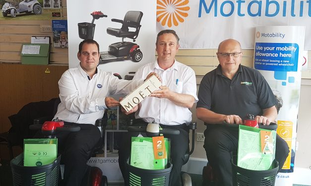 Zest for success wins TGA dealer of the month award for Beactive Mobility