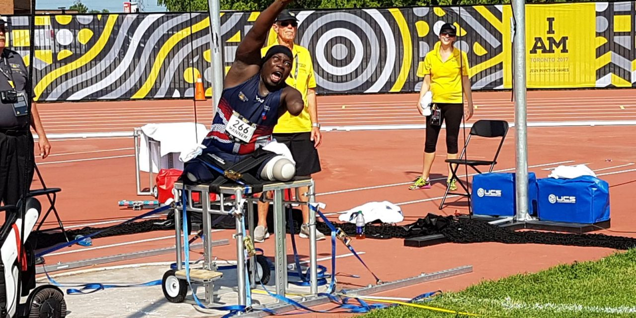 TGA WHILL Ambassador Lamin wins Gold and Silver at 2017 Invictus Games