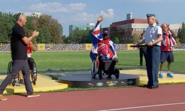 TGA WHILL Ambassador Lamin triumphs at 2017 Invictus Games