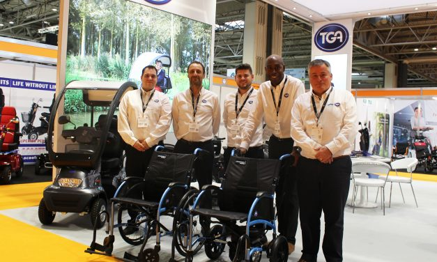 TGA Strongback Self-Propel wheelchair launch success