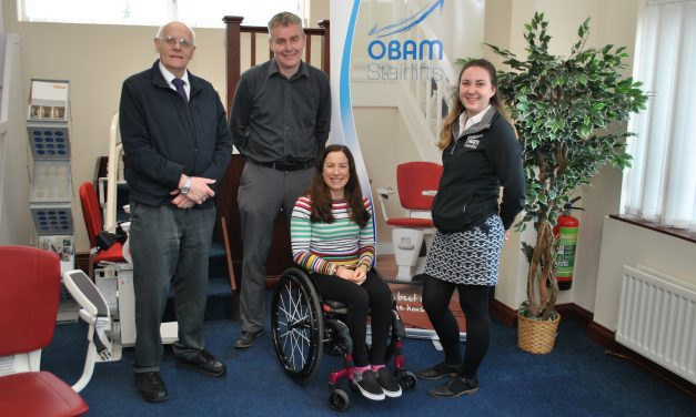 Obam Stairlifts sponsor Ironman hopeful